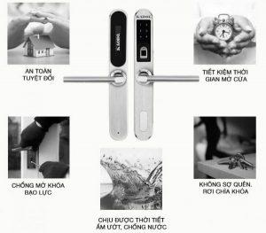 Những điều cần biết về khóa cửa vân tay