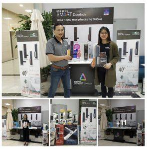 VNLOCK kết hợp Samsung tổ chức sự kiện tại chung cư Vinaconex7