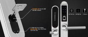 5 tính năng nổi bật của khóa cửa vân tay VNLOCK